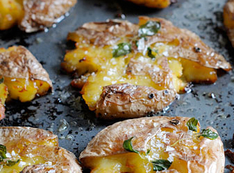 Kraschade potatisar