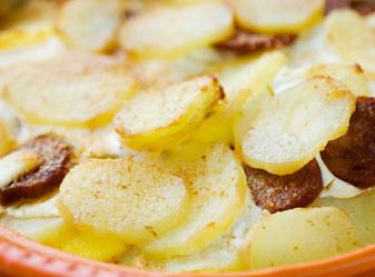 Rakot krumpli, ungersk gratäng