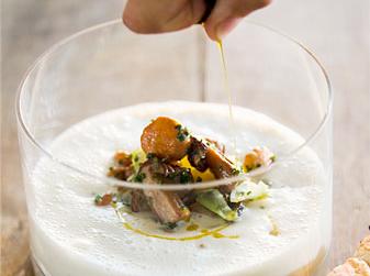 Potatissoppa med svamp