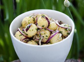 Enkel och fräsch potatissallad
