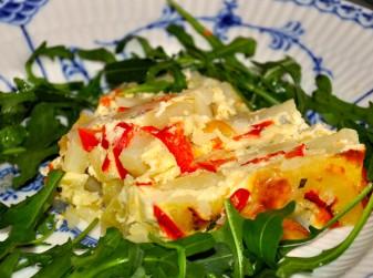 Potatispaté med ädelost