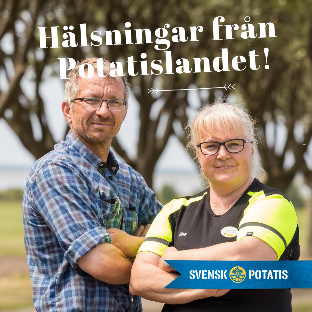 Hälsningar från Potatislandet – februari månad