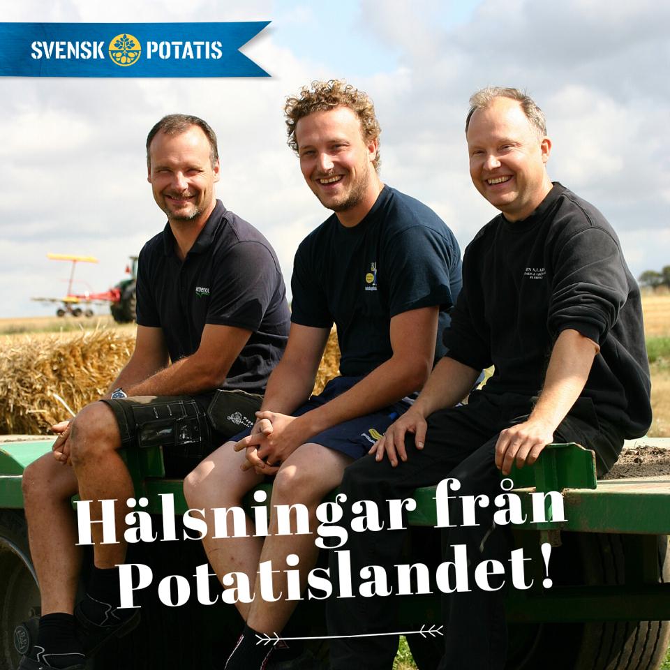 Hälsningar från Potatislandet – maj månad