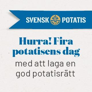 Fira Potatisens dag den 26 oktober
